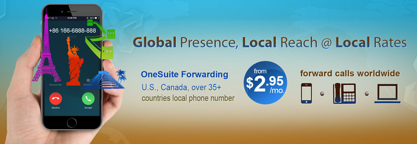 Global Presence, Local Reach @ Local Rates